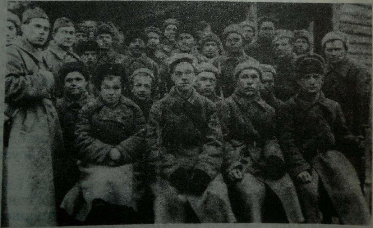 Бойцы батальона народного ополочения Дмитровского района