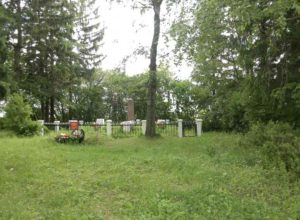Памятник Героям в деревне Степаново
