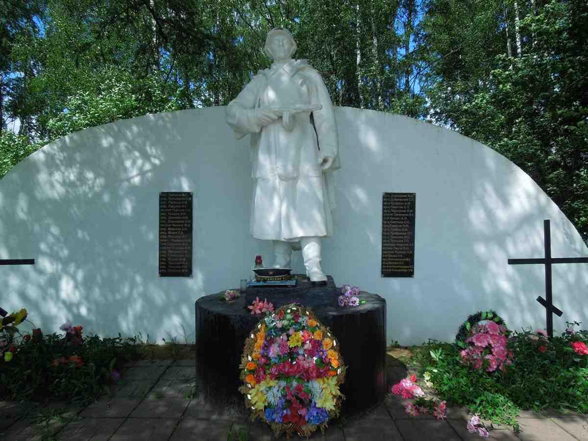 Памятник в Подъячево