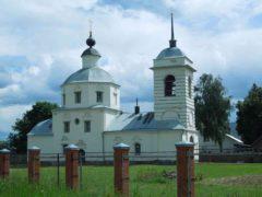 Церковь Покрова Пресвятой Богородицы в Новокарцево