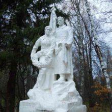 Памятник в деревне Языково