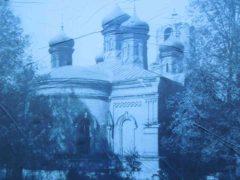 Христорождественский храм в селе Ильинское