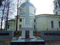 Памятник воинам села Синьково