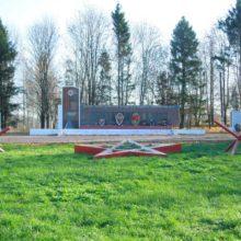 Памятник в поселке Деденево