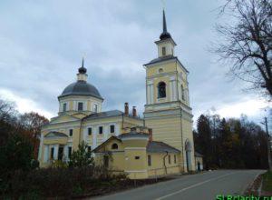Никольская церковь в селе Подъячево