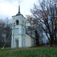 Знаменский храм в деревне Матвейково