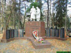 Братская могила на красной горке