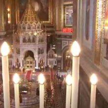 Мощи Николая Чудотворца в Храме Христа Спасителя
