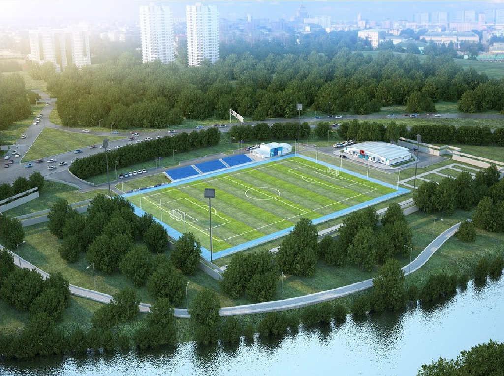 Реконструкция стадиона к ФИФА 2018