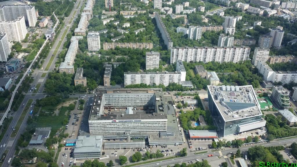 Телебашня в Москве