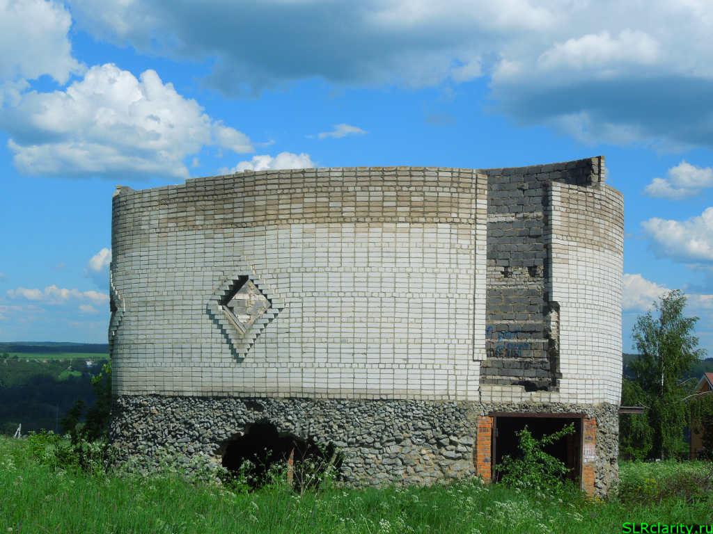 Строительство овального дома
