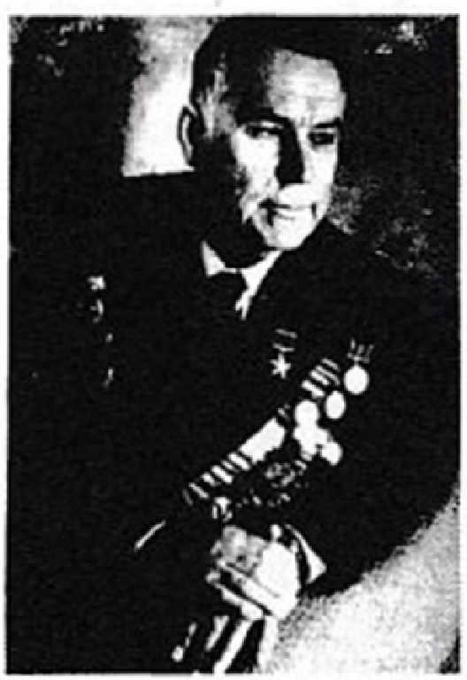Гвардии майор Лебедев Федор Михайлович