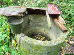 Колодец в деревне Степаново