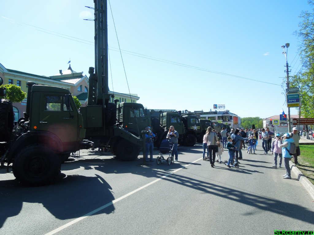Девятое мая в Дмитрове