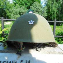 Памятник в деревне Высоково