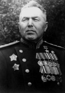 Командующий 1 й ударной армией