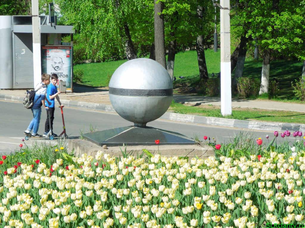 Скульптура шар