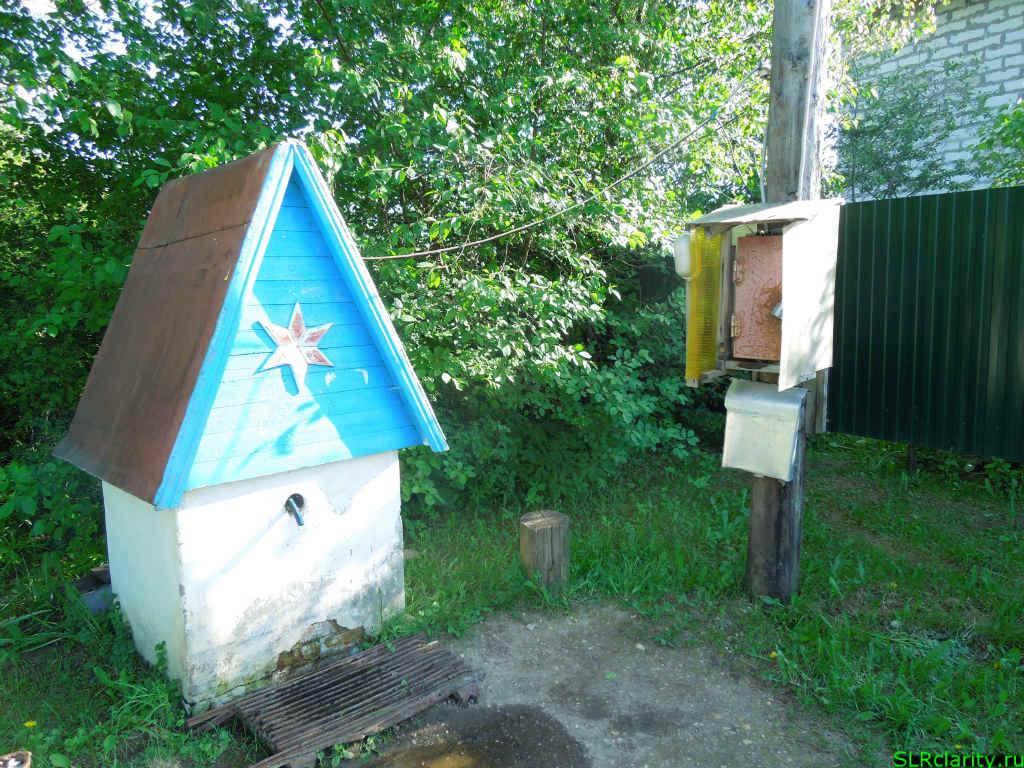 Колодец в деревни Микишкино