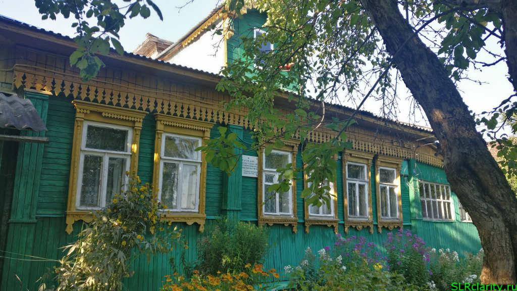 Штаб Советской армии в деревне Дьяково