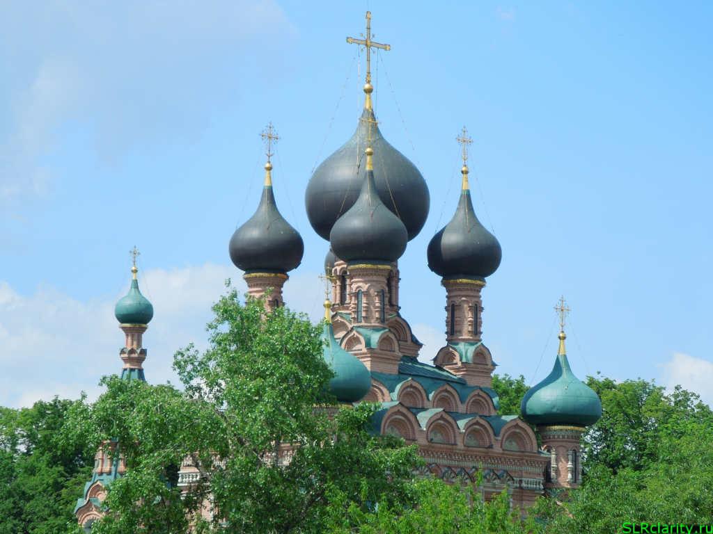 Церковь Троицы Живоначальной в Останкине