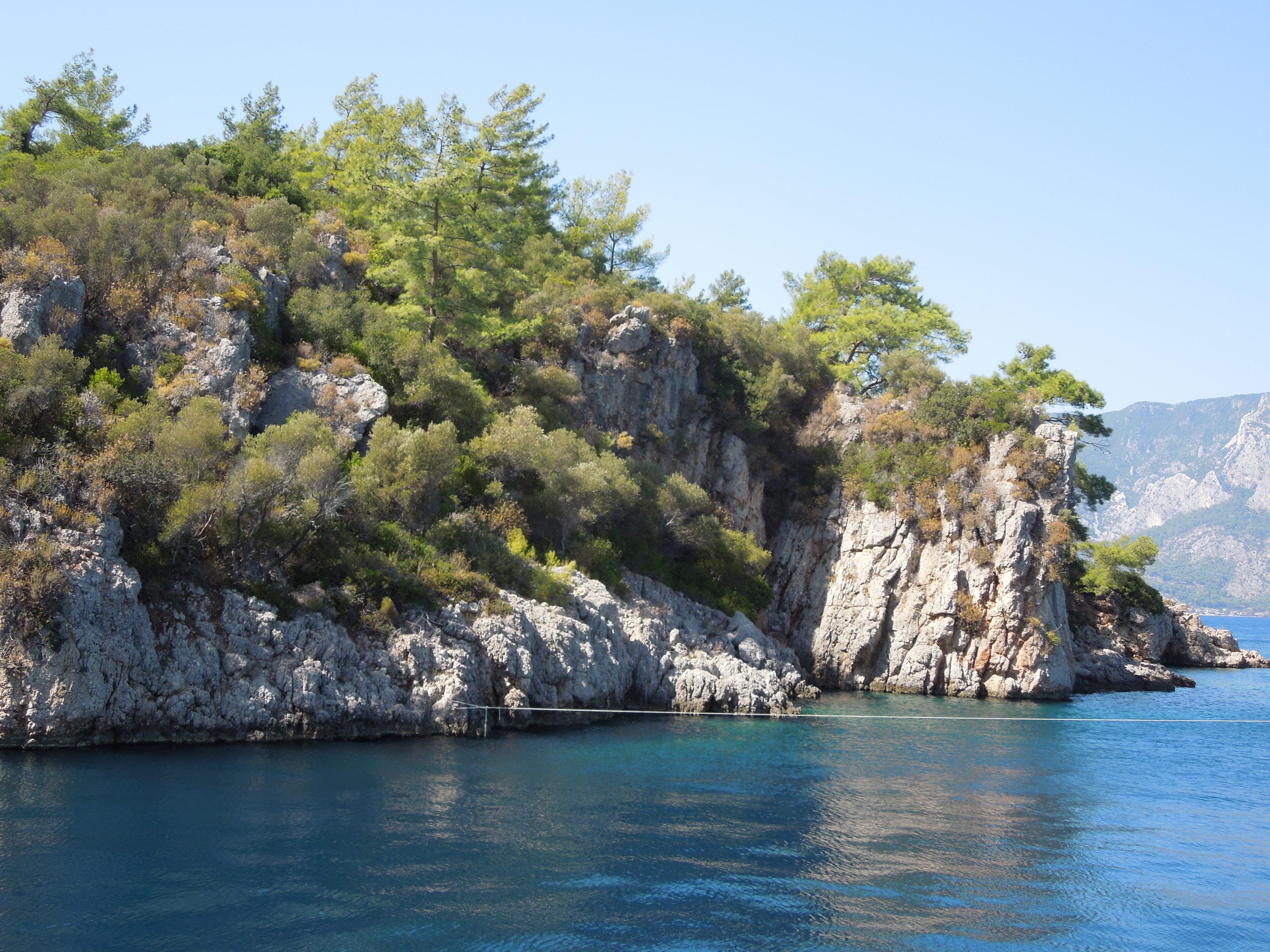 Остров Клеопатры (Седир) Турция