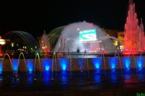 Поющий фонтан в центре Мармариса